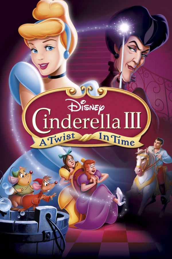Cinderella Iii A Twist In Time The Evil Stepmother Conjures Up A