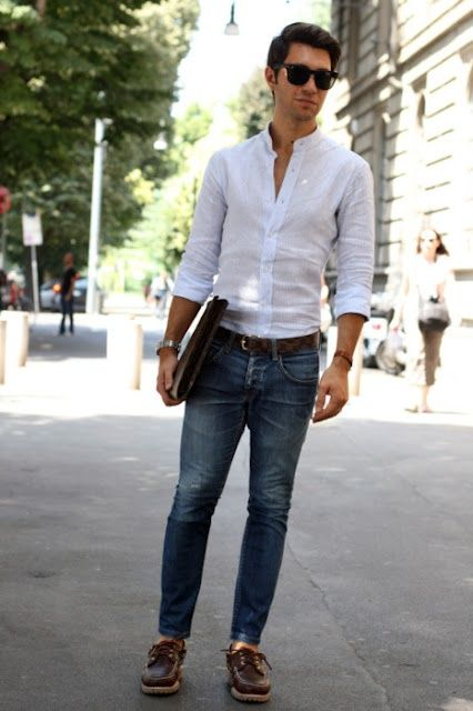blue jeans and white shirt men - ค้นหาด้วย Google | ME : MY ...