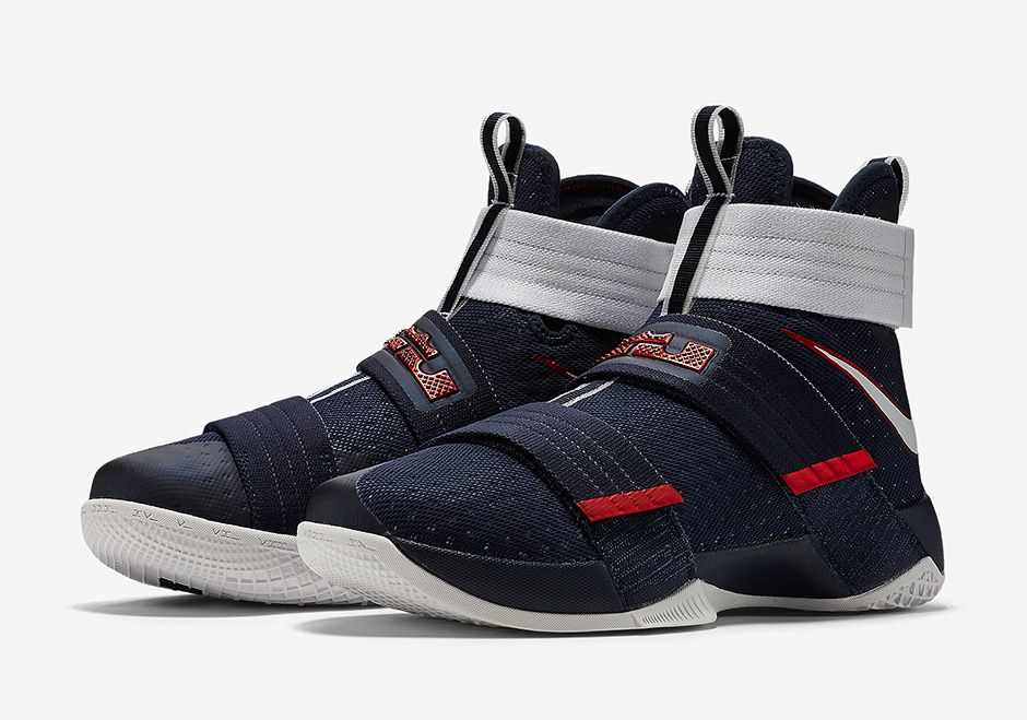 The Nike LeBron Zoom Soldier 10 USA Drops On The 4th Of July