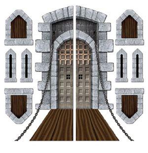 SCENE SETTER - CASTLE DOOR & WINDOW PROPS
