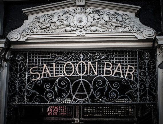 This Saloon Bar London Photography is a photo taken in London while we were walking around looking for places to grab some food - Lost Kat Photography on Etsy