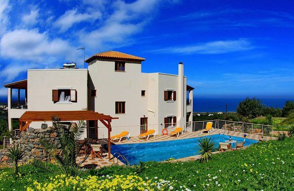 Beautiful villa in Crete, Greece