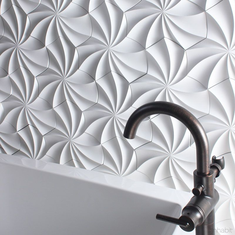 Tiles For Wall Decoration 25 Creative 3D Wall Tile Designs To Help You Get Some Texture On