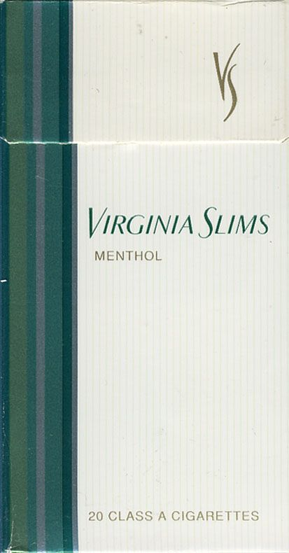 Virginia slims menthol lights