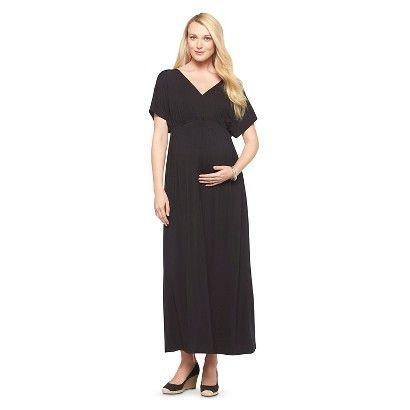 Maternity Knit Kimono Maxi Dress-Liz Lange® for Target®