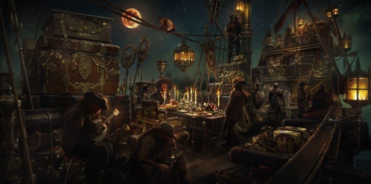 Art Of Pirates Of The Caribbean Dead Men Tell No Tales