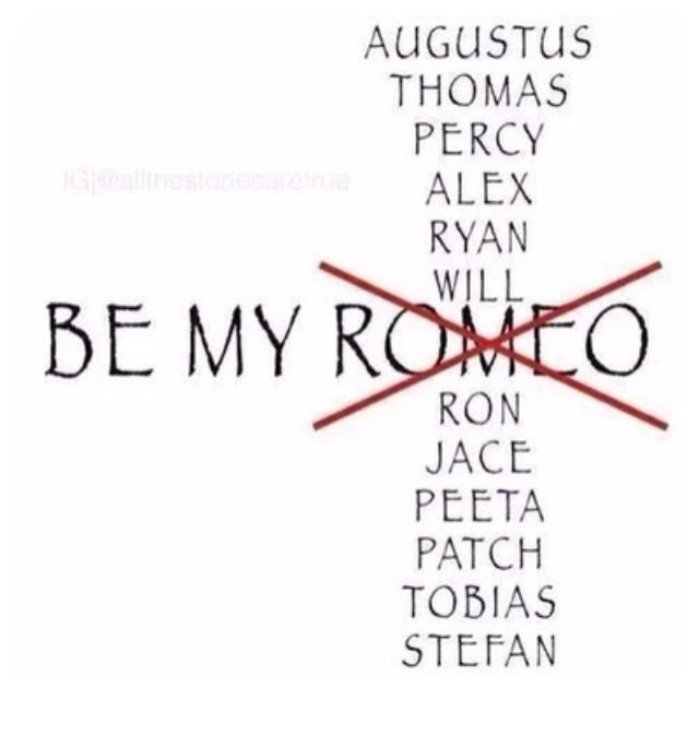 Yes be my Augustus, who cares about romeo. The fault in