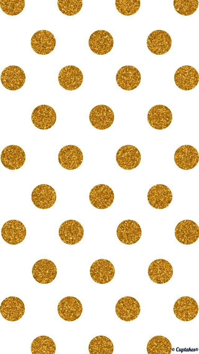 Golden Polka Dots