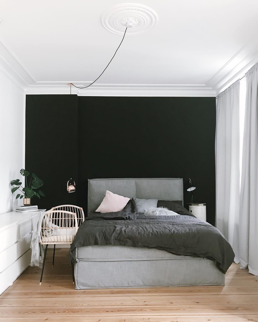 Black Wall - ein Interior Trend für Mutige | WestwingNow #schwarzewände