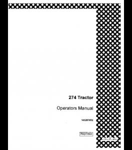 Best case ih 274 tractor operators manual download