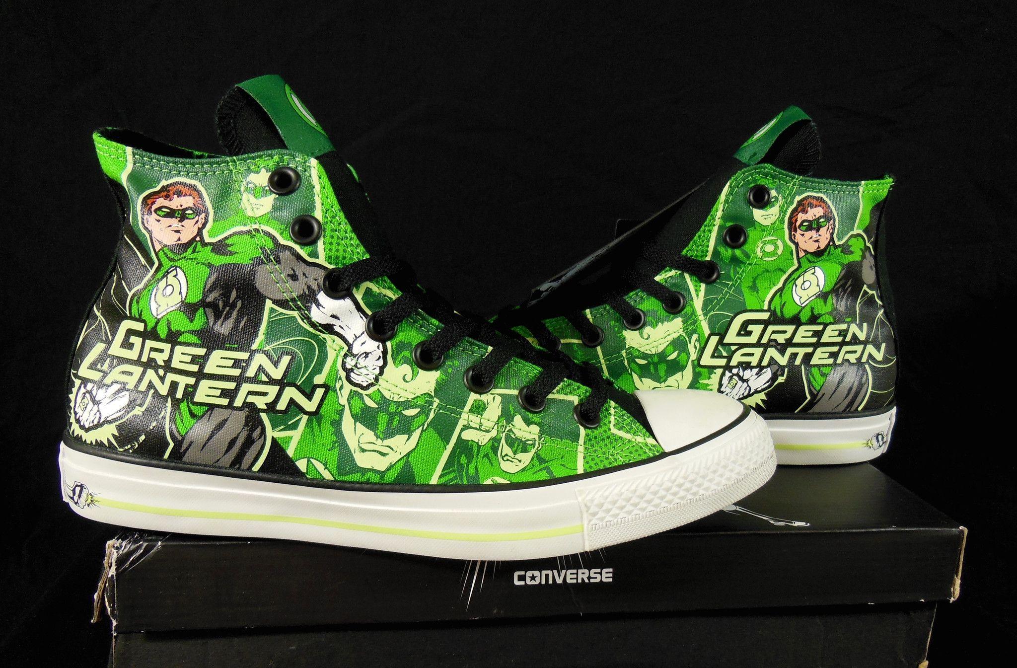 DC Comics x Chuck Taylor All Star 'Green Lantern' Converse
