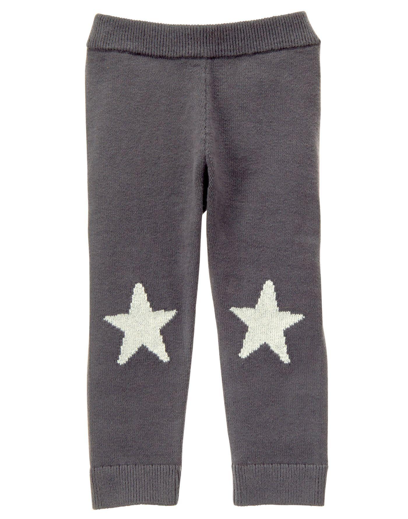 4c8cafe9103825 Star Knit Leggings | kids fashion-girls | Knit leggings, Leggings ...
