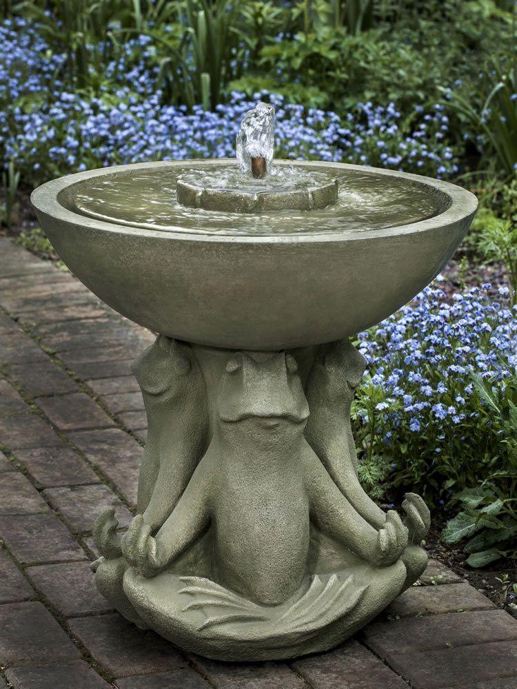 Zen Iii Frog Water Fountain