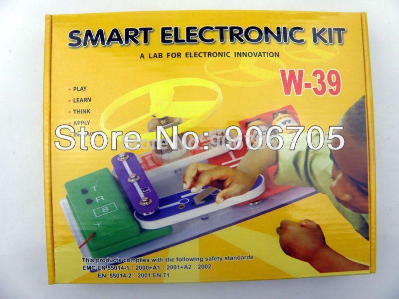 $75.00 (Buy here: https://alitems.com/g/1e8d114494ebda23ff8b16525dc3e8/?i=5&ulp=https%3A%2F%2Fwww.aliexpress.com%2Fitem%2FFree-shipping-Teacher-Wang-Electronic-block-kit-W-39-Educational-toys-for-kids-electronic-building-blocks%2F902386318.html ) Elenco Electronic Snap Circuits Block Kit, Children Electronic Building Blocks Educational  Assembling Toys for Kids for just $75.00