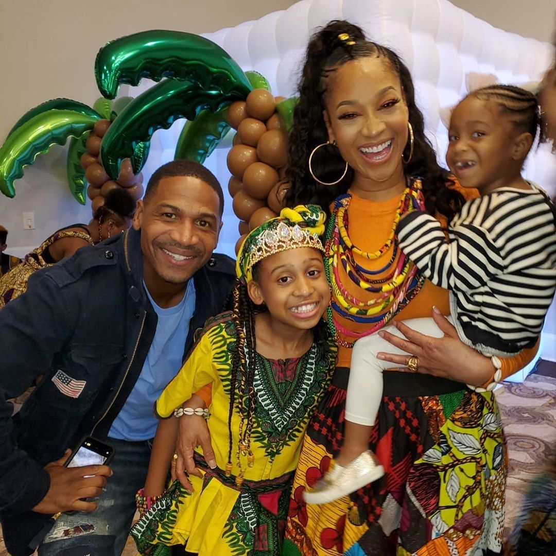 Stevie J And Mimi Faust Throw Daughter An Epic African Themed Party Photos In 2020 Mimi Faust Stevie J Love And Hip