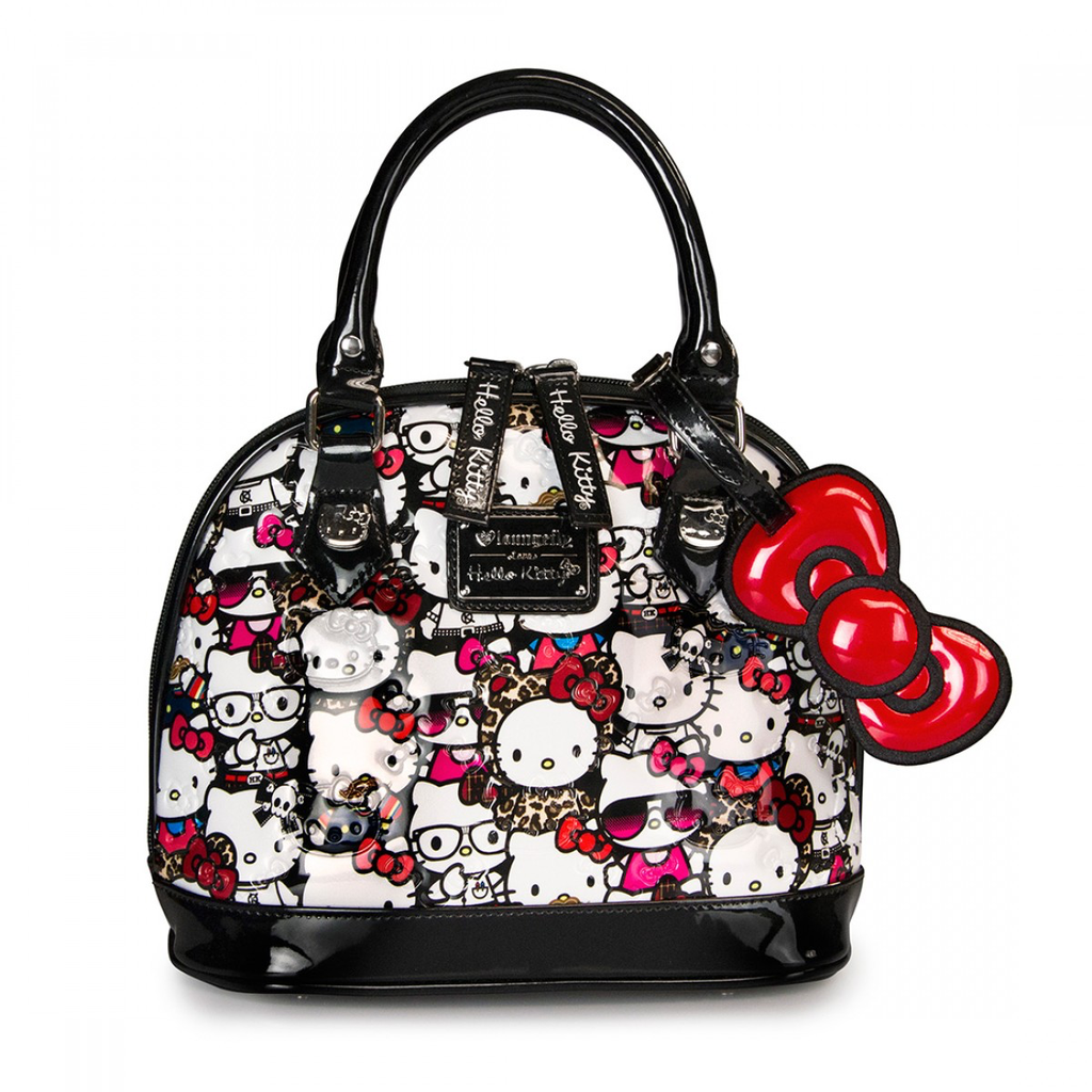 c1b25b6c4 LOUNGEFLY HELLO KITTY ALL STARS PATENT EMBOSSED MINI BAG | Afryl's ...