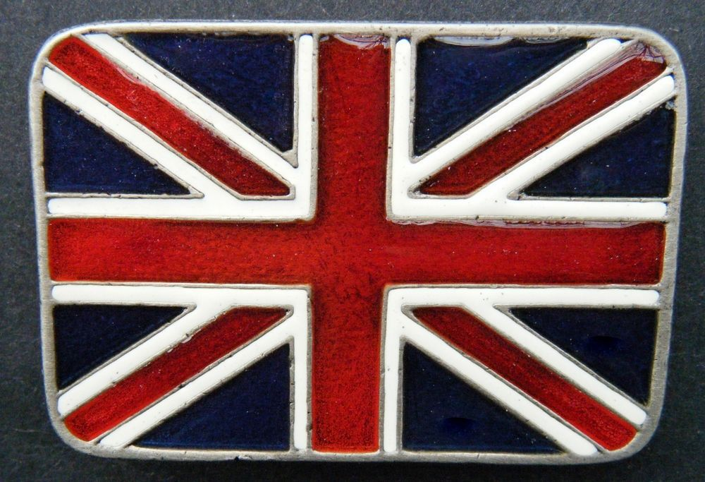 Union Jack Flag Belt Buckle England UK United Kingdom Cool Flags Belts & Buckles #CoolBuckles