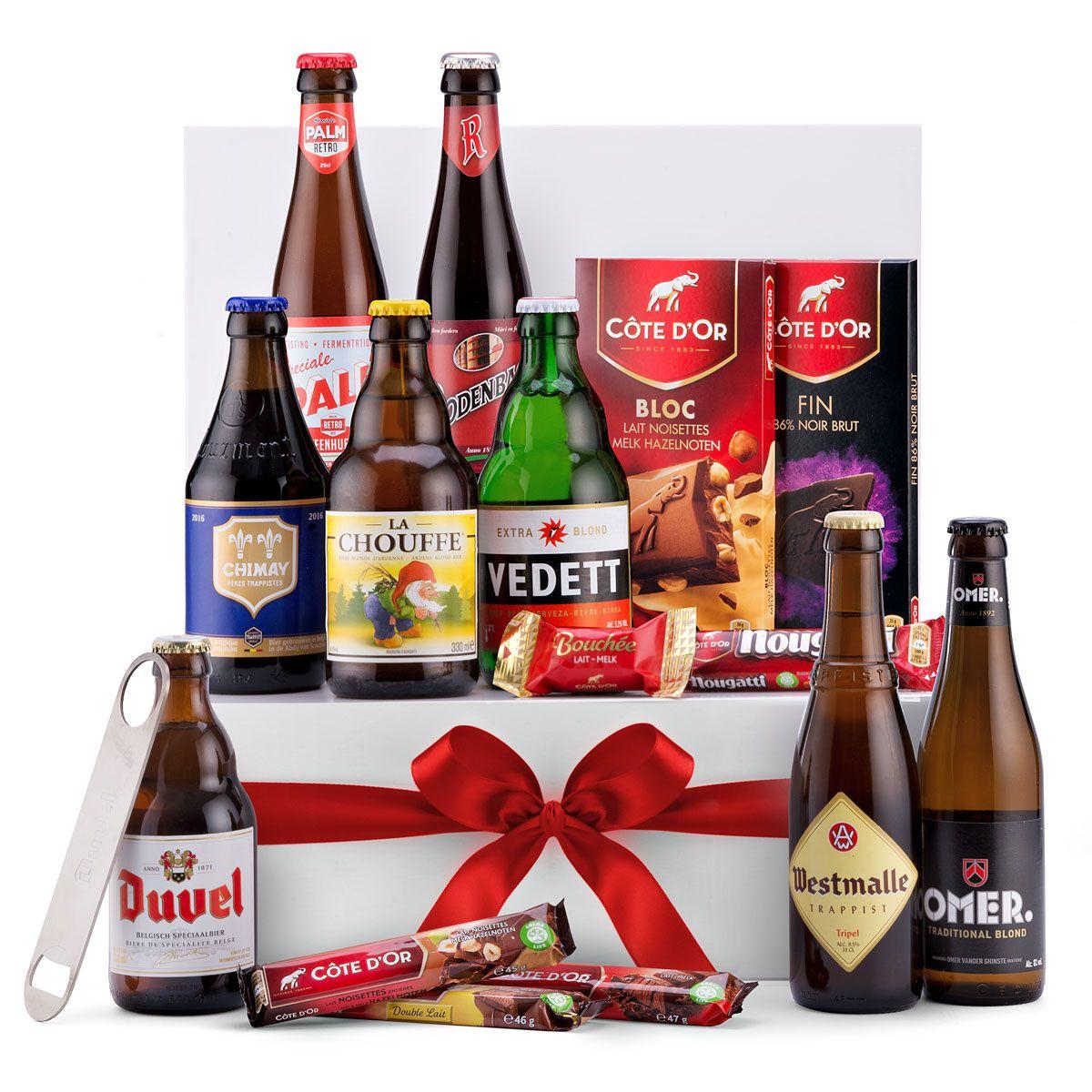 Belgian Beer Chocolate Selection Gift Box Belgian Beer Valentines Day Wine Belgian Chocolate