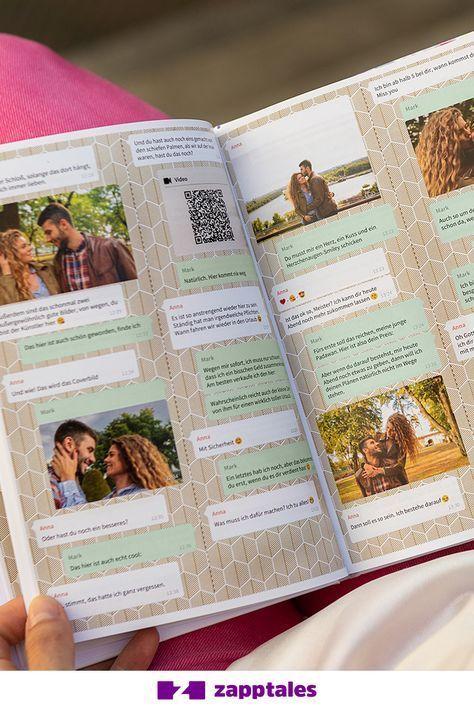 Mit zapptales können Sie Ihre WhatsApp-Chats in einem einzigartigen Buch ausdrucken! Mit zu ... - #Ausdrucken #Buch #einem #einzigartigen #Ihre #können #mit #sie #WhatsAppChats #zapptales #zu