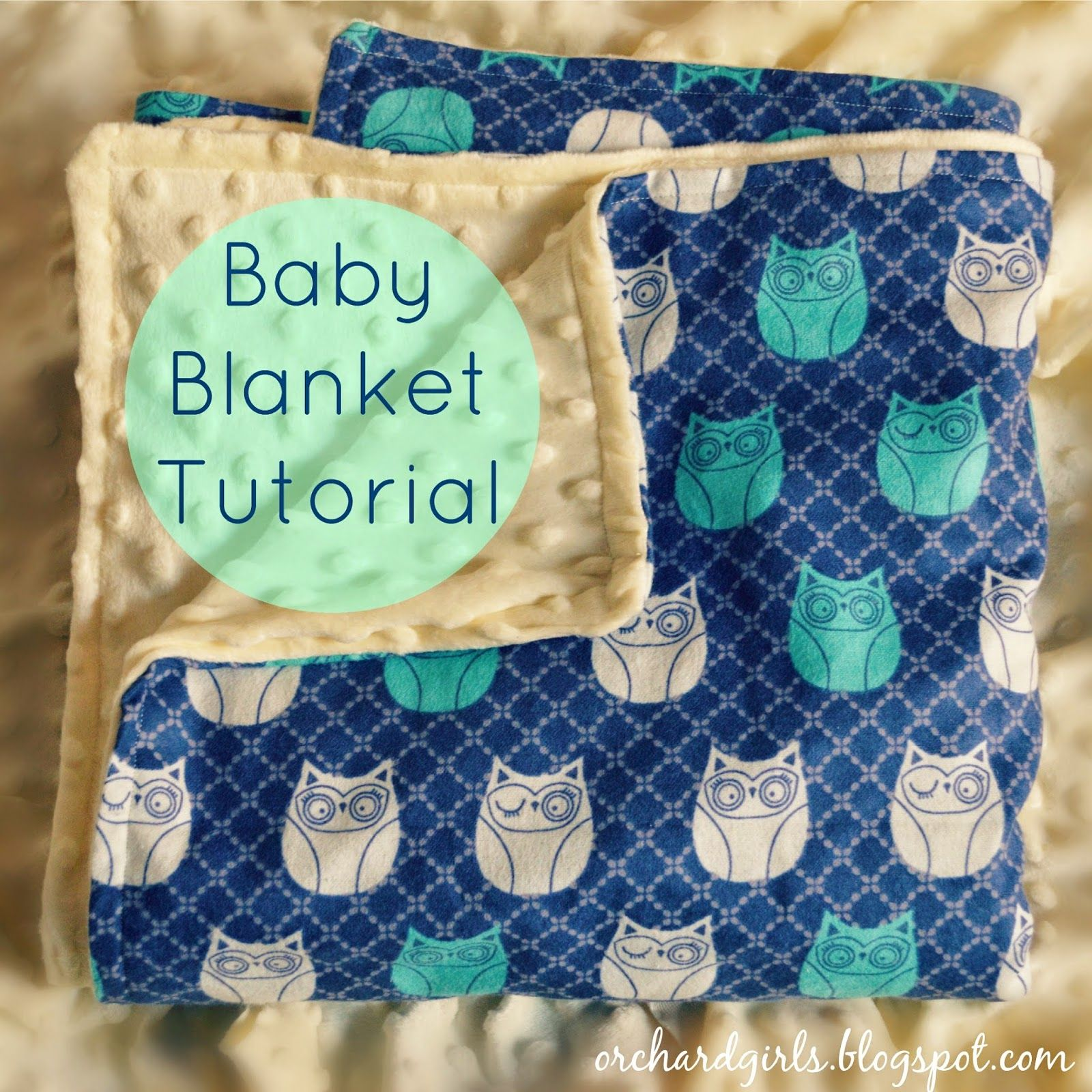 Super easy diy baby blanket tutorial with minky and cuddle fabric super easy diy baby blanket tutorial with minky and cuddle fabric jeuxipadfo Gallery