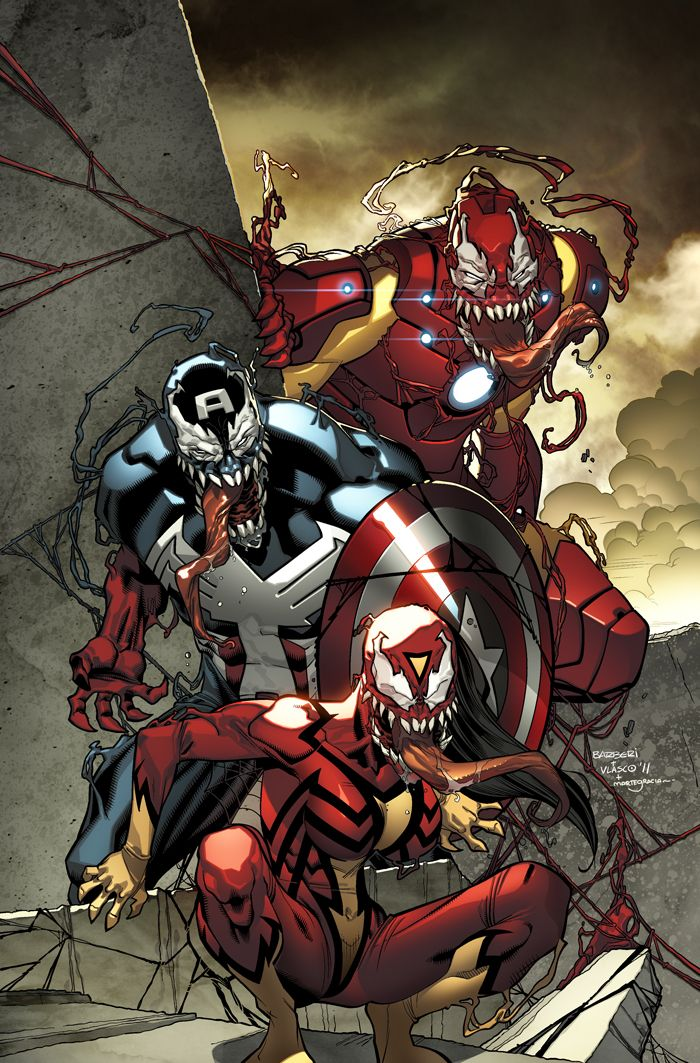 Avengers cover by Carlo Barberi and colors by Marte Gracia.