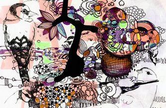 Drawing, painting and graphics 2010 - Randi Antonsen