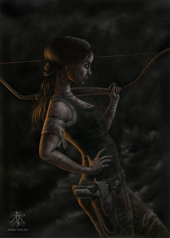 tombraider:  Fanart: Reborn by Metalblackfae