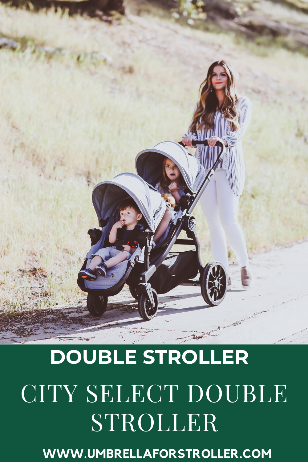 City Select Double Stroller in 2020 City select double
