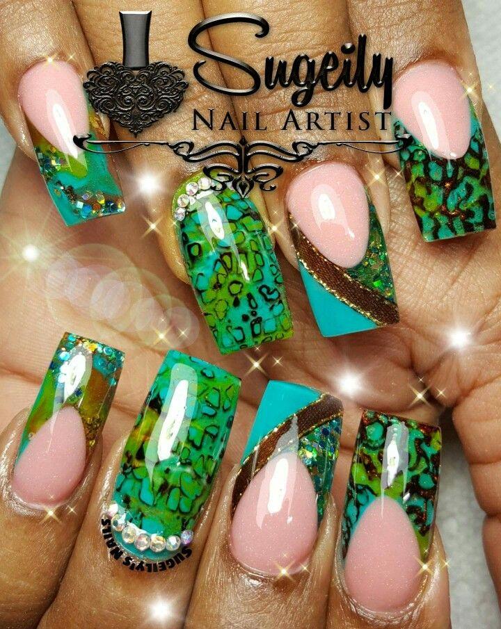 Pin de Samantha T en Nails Designs | Pinterest | Uñas acrílico ...