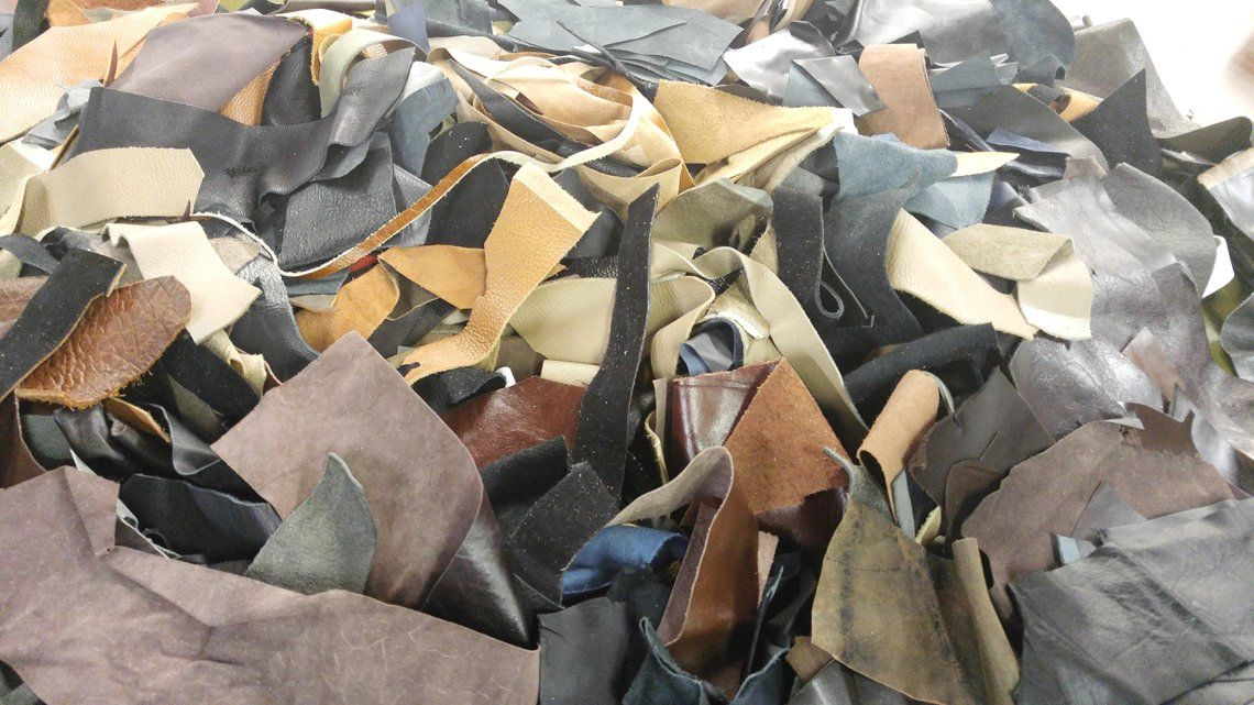 FREE LEATHER SCRAPS pay only shipping 1 lb. or 1/2 kg