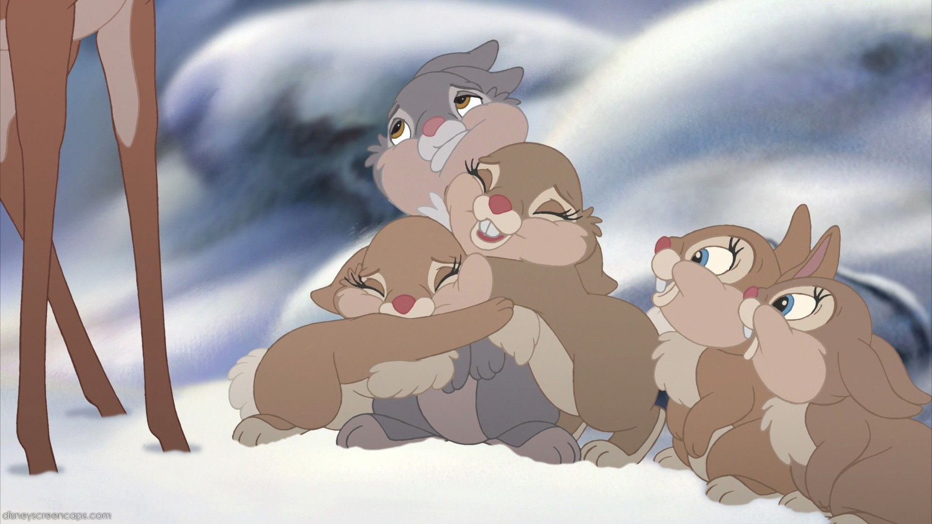 Thumper With His Sisters Thumper Disney Thumper Disney Story