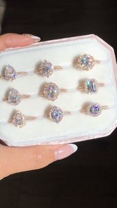 Moissanite Engagement Rings by La More Design Moissanite Engagement Rings by La More Design