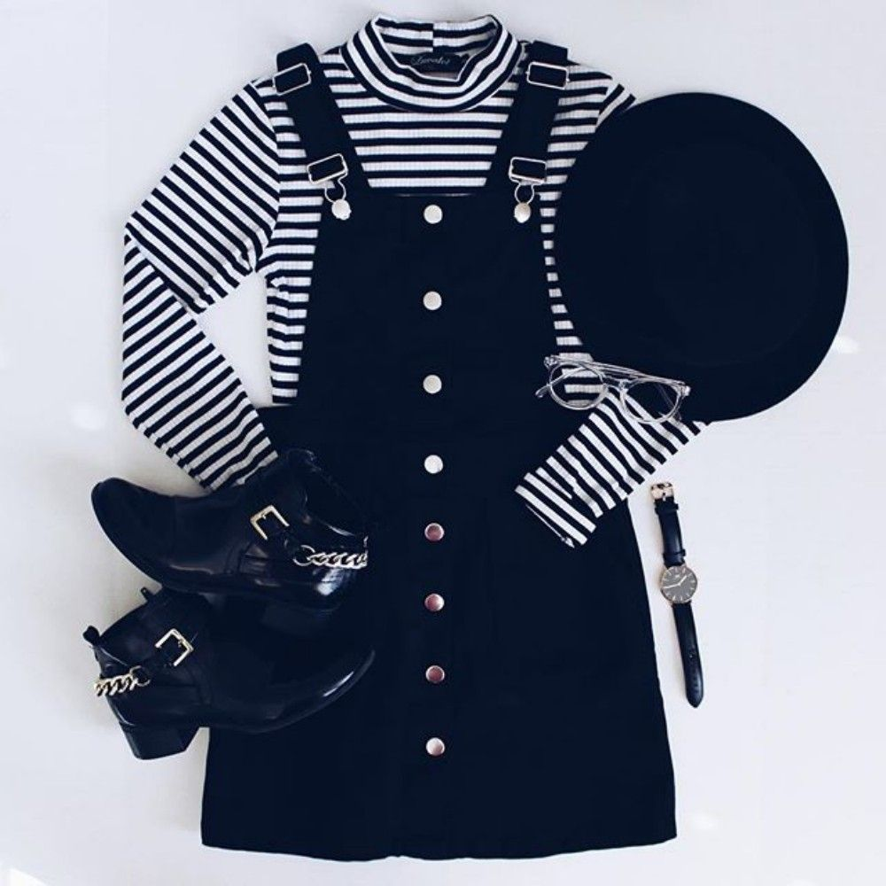 Gorgeous 77 Trendy Overalls Outfits for Summer and Spring from https://www.fashionetter.com/2017/04/17/77-trendy-overalls-outfits-summer-spring/