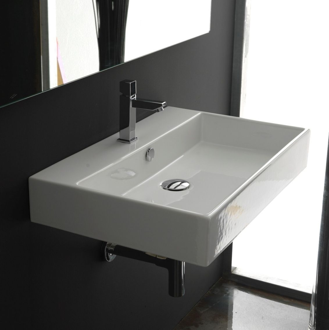 Wall Mounted Sink | ACCESSIBLE SINKS | Pinterest | Wall mounted sink ...