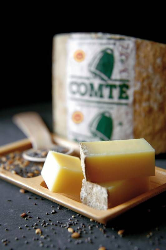 Win a hamper of French Comté Cheese, including four ages of Comté and some Jura region saucisson