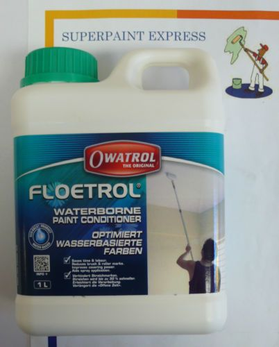 Floetrol Paint Additive Waterborne Paint Conditioner Owatrol 1