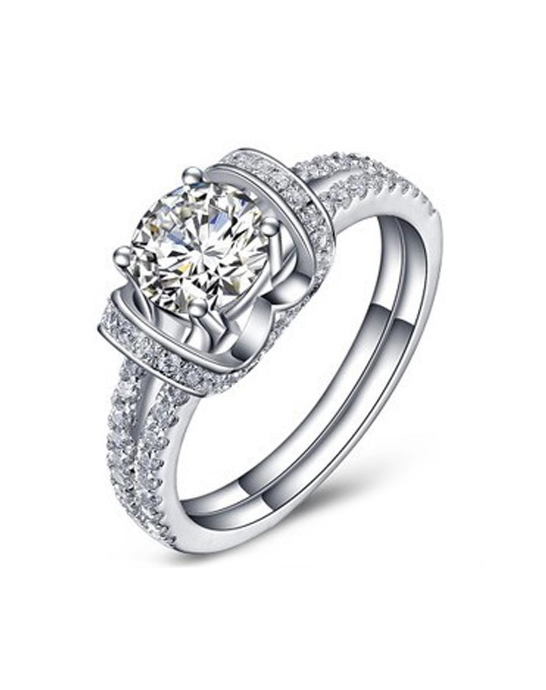 Adorewe Vipme Rings Siruiman 1ct Sona Diamond Sterling Silver Wedding Ring: The Flash Inspired Wedding Ring At Websimilar.org