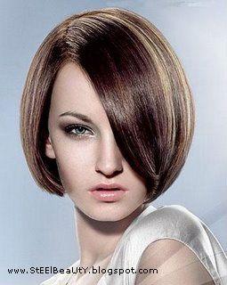 قصات قصير مدرج 2012 قصات قصير جديده 2012 قصات قصير بالصور Angled Bob Hairstyles Bob Hairstyles Short Hair Color