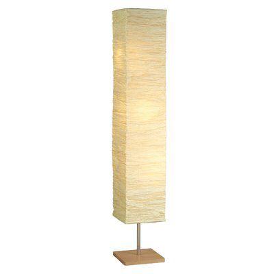 Toombs 58 Quot Column Floor Lamp Paper Floor Lamp Floor Lamp Modern Floor Lamps