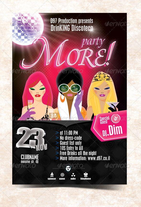 party invitation flyer fonts logos icons pinterest party flyer