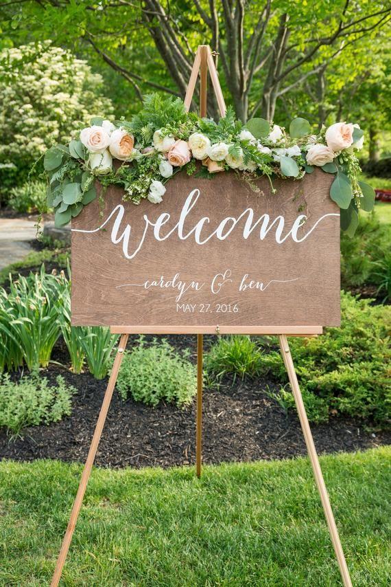 Wedding Welcome Sign, Welcome sign, Wedding Wood Welcome Sign, Wedding sign, Wood Wedding Sign, Wooden Wedding Sign, Wood, Rustic Wedding -c