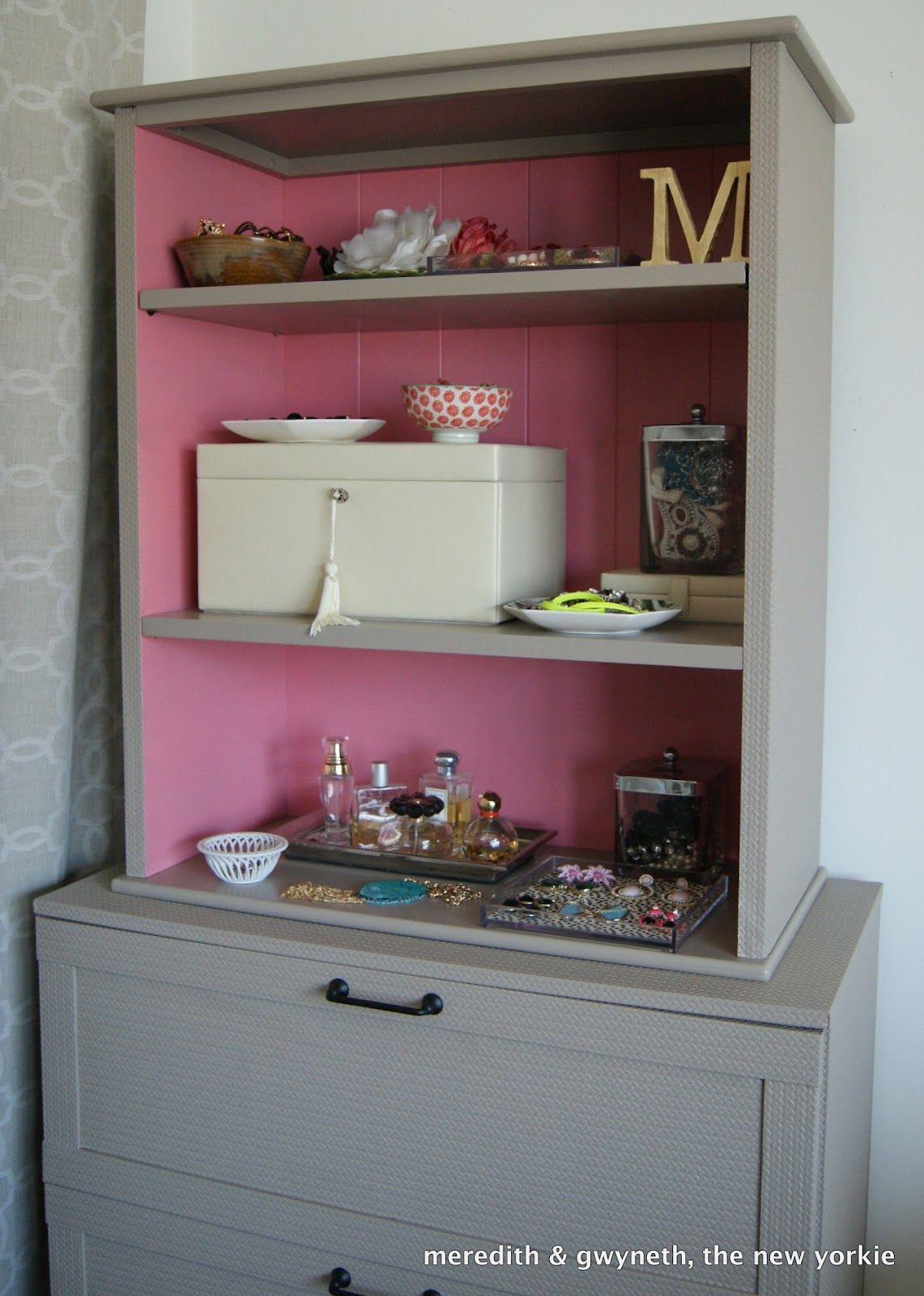 Bon Dumpster Dive Dresser, Bookcase And Paintable Wallpaper.