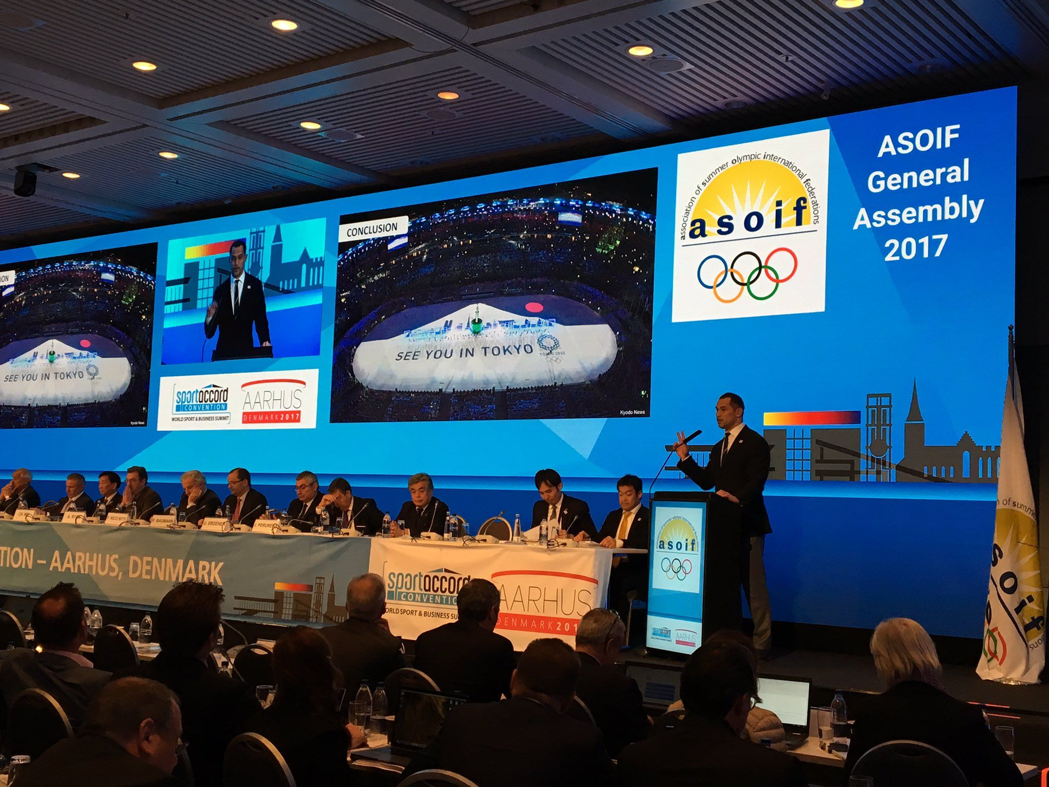 RT @ASOIFSummerIFs: Tokyo 2020 now updating the ASOIF General Assembly about their preparations and collaboration with IFs https://t.co/0MnTsUabax
