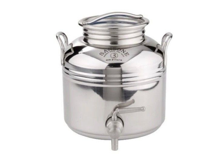 5 Favorites Stainless Steel Water Fustis Italian Edition Remodelista Olive Oil Dispenser Water Dispenser Countertop Water Dispenser