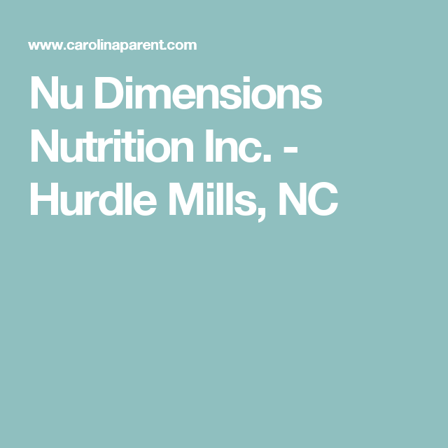Nu Dimensions Nutrition Inc  - Hurdle Mills, NC | Dogs | Pinterest
