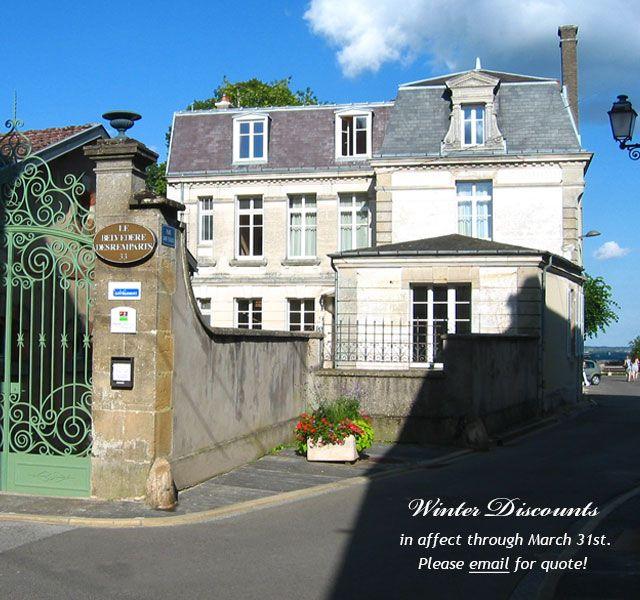 Le Belvédère des Remparts | Chambres d'hotes in Langres