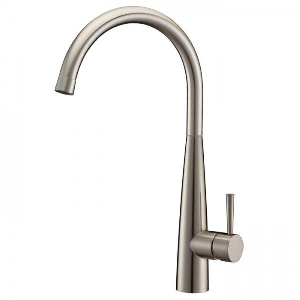 Opula Brushed Nickel Kitchen Faucet Swivel Spout  Kitchen Items Amusing Brushed Nickel Kitchen Faucet Decorating Inspiration