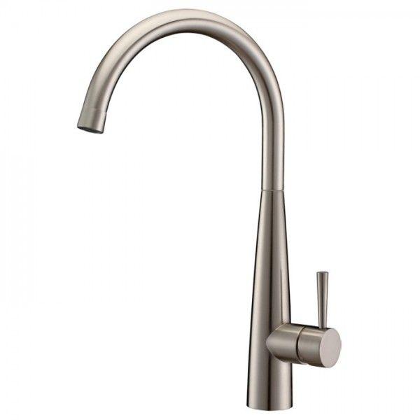 Opula Brushed Nickel Kitchen Faucet Swivel Spout  Kitchen Items Amusing Brushed Nickel Kitchen Faucet Decorating Inspiration
