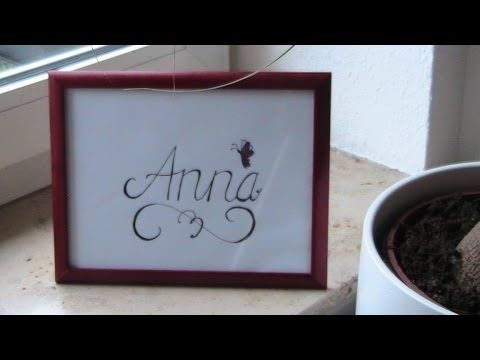 Cursive fancy letters i write your name example anna youtube cursive fancy letters i write your name example anna youtube expocarfo