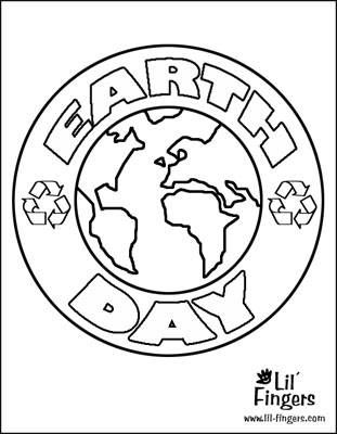 7 Places To Find Printable Earth Day Coloring Pages For Kids At Lil Fingers